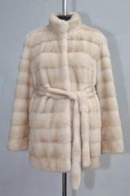 куртка, модель 14-2, норка не крашеная, цвет: паломино
